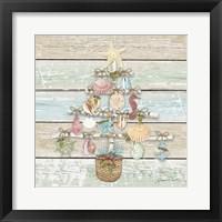Framed Coastal Christmas A