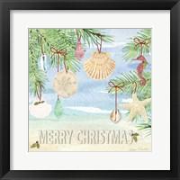 Framed Coastal Christmas E