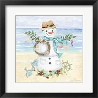 Framed Coastal Christmas F