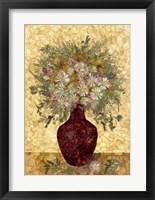 Framed Vase With Flowers