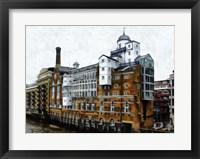Framed Butlers Wharf London