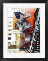 Framed Staircase Contrasts