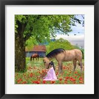 Framed Love The Horses