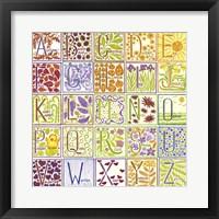 Framed Alphabet Collage 1