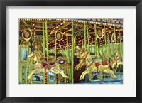 Framed Carousel Esther Sam Sally