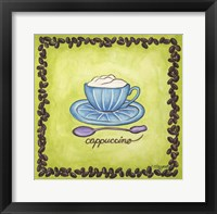 Framed Coffees Cappuccino