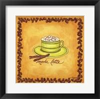Coffees Mocha Latte Framed Print
