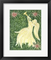 Framed Angels Yellow