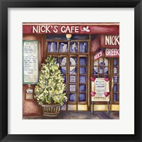 Framed Cafes Nicks