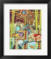 Framed Carousel Henri Henry