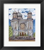 Framed Synagogue Nuremburg Exterior