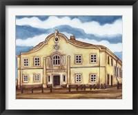 Framed Synagogue Telz Exterior