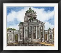 Framed Synagogue Warsaw Exterior