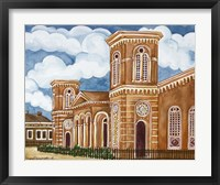 Framed Synagogue Wiznitz Exterior