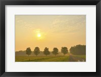 Framed Country Morning Glow