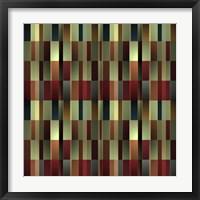 Framed Brandy Wine Pattern