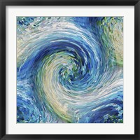 Framed Wave to Van Gogh