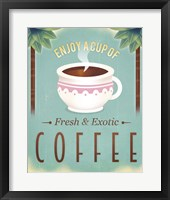 Framed Coffee Exotic