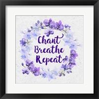 Framed Bhakti-Chant Breathe Repeat