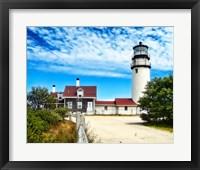 Framed Cape Cod Light