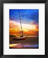 Framed Cape-Sunset Sail