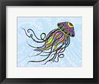 Framed Electric Jellyfish