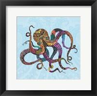 Framed Electric Octopus