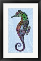 Framed Electric Seahorse-Boy