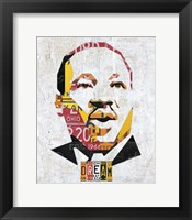Framed Mlk Dream Portrait