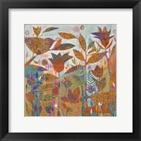 Framed Garden Fantasy