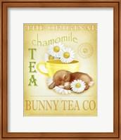 Framed Chamomile Tea Bunny