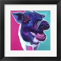 Framed Pig - Sophie