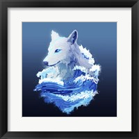 Framed Wolf Wave