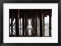 Framed Fog Under Pier