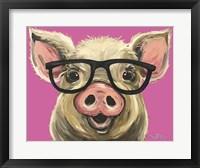 Framed Pig Posey Glasses Pink