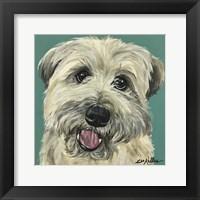 Framed Wheaton Terrier