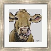 Framed Cow Daisy