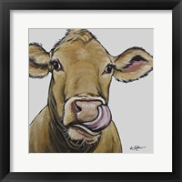 Framed Cow Daisy