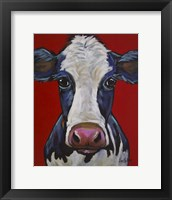 Framed Cow Georgia
