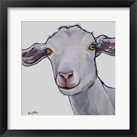 Framed Goat Hilda