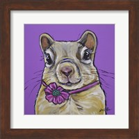 Framed Squirrel Sally