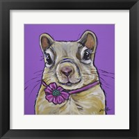 Framed Squirrel Sally