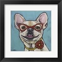 Framed Frenchie Gigi