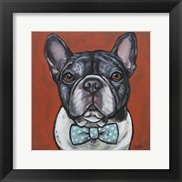 Framed Frenchie Louie