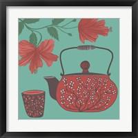 Framed Hibiscus Tea