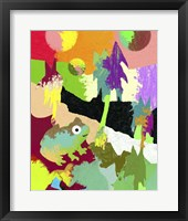 Framed Colorful Frog