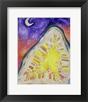 Framed Citrine and Stars