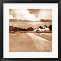 Framed Homestead - Brown
