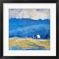 Framed Home Sweet Home - Blue