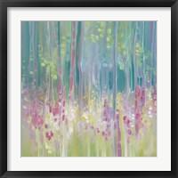 Framed Abstract Summer
